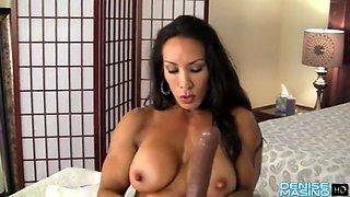 Denise masino toys her fbb clit