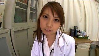 Horny Japanese whore in Exotic Creampie/Nakadashi, Nurse/Naasu JAV clip