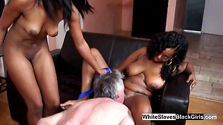 Black babes love whipping.