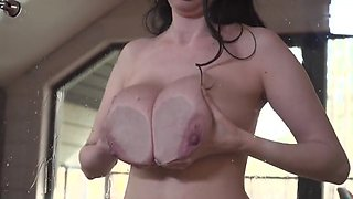 Huge soft natural boobs with big tasty nipples full video