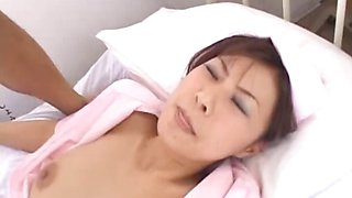Asian nurse is sexy and alluring