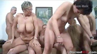 German Mature Swingers Party
