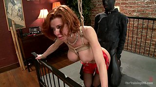 The Training of a Nympho Anal MILF, Day One - TheTrainingofO