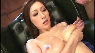 Julia - big tits bukkake
