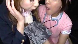 Japanese gals gokkun bukkake 1
