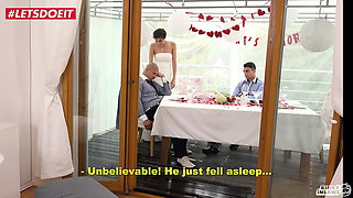 LETSDOEIT - Bride Gets Banged By STEP SON At Her Wedding