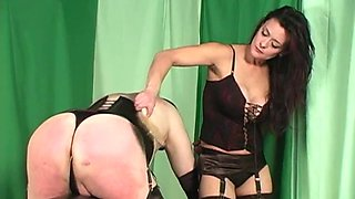 a wooden spanking paddle