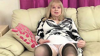Non stop English milfs and grannies