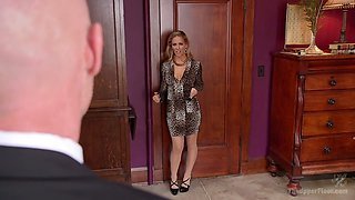 Brutal mouthfuck and wild analfuck are both provided for real Cherie Deville