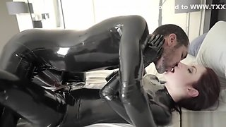 Violet and micket latex