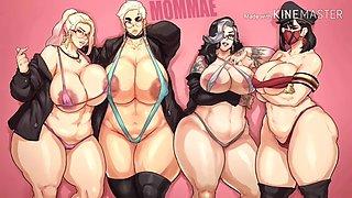 Whoa yo mama fine: and her friends vol.2