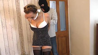 Kinky Blonde Bride, Jenna H Got Tied Up And Gagged, Because It Excites Her A Lot