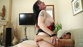 Chubby mature slut Miss Nina Swiss gets drilled by Anthony Rosano