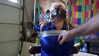 mature chairtied gagged and blindfold