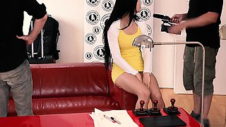 EXPOSED CASTING - Hot Russian teen fucks hard at audition