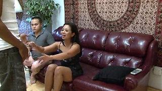 XY CUCKOLD ASIAN WIFEY AND BIG BLACK DICK HD