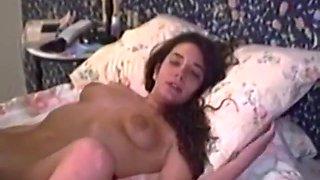 Retro Young Lesbians Filmed Strapon Fucking
