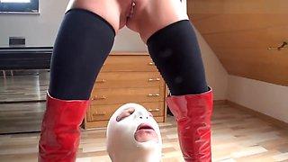 German Femdom Mistress - fisting and pissing