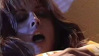 Incredible and hot redhead busty babe can't resist sex