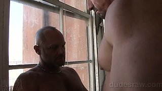 Ed Hunter and Chad Brock cruise each other on the BBRT