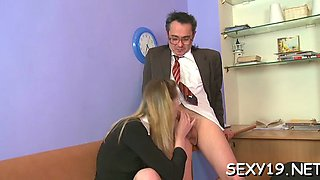 fellatio for mature teacher amateur segment 4