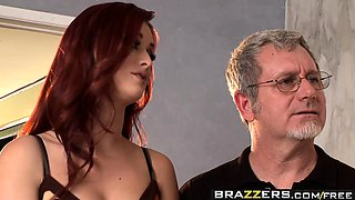 Brazzers - Hot And Mean - My Stepmom is a FAN