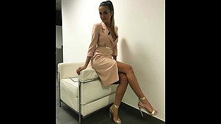 Giorgia Palmas Hot Video Tribute (Porn Audio)