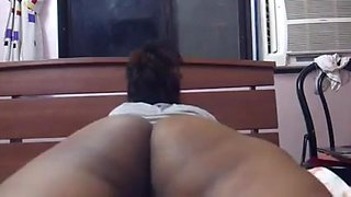 South indian inserting dildo