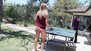 Vivid.com - Playful Teen Alex Carter gets rammed by her father's friend