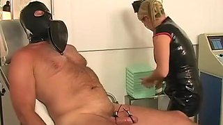 Horny pornstar Mistress Nicolette in hottest big tits, blonde xxx scene