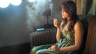 Incredible amateur Smoking, Softcore sex clip