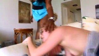 April lynn babysitter fucked by black couple