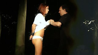 Humiliated Tina Blade submitted to a dark perversion