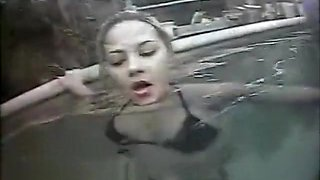 Ashlynn Groped by pervert in Pool
