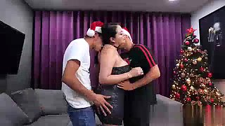 Hot mom pamela gets seduced by son &amp his best friend