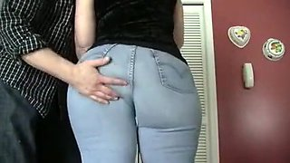 Horny homemade Fetish, Ass porn scene