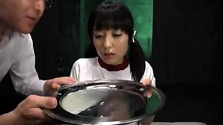 Naughty Japanese teen is addicted to hot jizz and hard sex