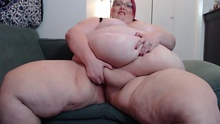 SSBBW Manda Clit Tease And Masturbation!