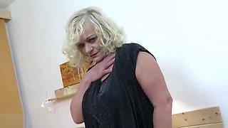 Sexy grannies seduce young boys