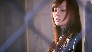 Incredible Japanese model in Fabulous Latex, HD JAV video