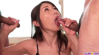 Nothing but pure oral passion by Ayumi Shinoda - More at Slurpjp com