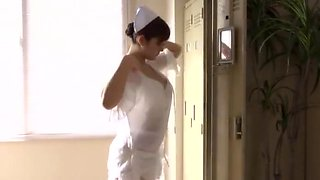 Incredible Japanese chick Megu Fujiura in Hottest Nurse, Big Tits JAV scene