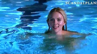 Scarlett Johansson Nude in Swimming Pool - ScandalPlanet.Com