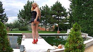 Helena Valentine in hardcore gonzo anal scene by Ass T