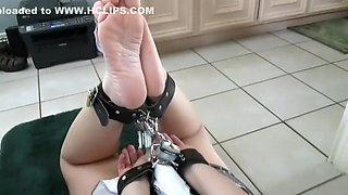 Maid In Punishment Hogtie