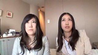 Amazing Japanese slut Chisato Ayukawa, Mika Osaki, Minami Kijima in Incredible Dildos/Toys, Cumshots JAV scene