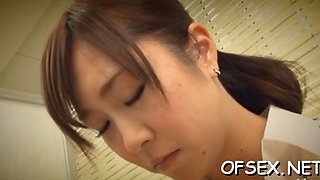 punished by her coworker asian feature 2