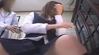 Japan school breast exam gyno doctor