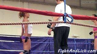 gorgeous euro wrestling smalltits dyke