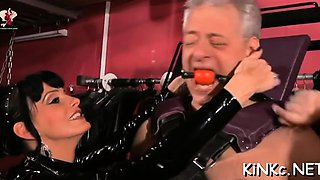 Get on ribald latex ride with eternally horny pussies